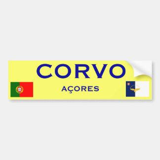 Corvo*のバンパーステッカー バンパーステッカー