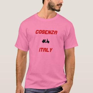 Cosenzaのイタリアのスクーター Tシャツ
