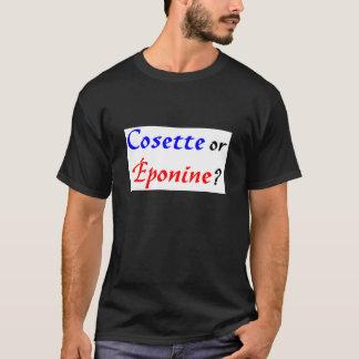 Cosette Les Miserables Tシャツ