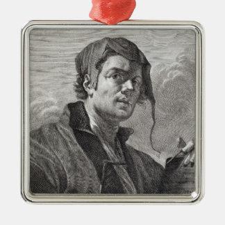 Cosi著刻まれるゲリットvan Honthorst (1590-1656年) メタルオーナメント