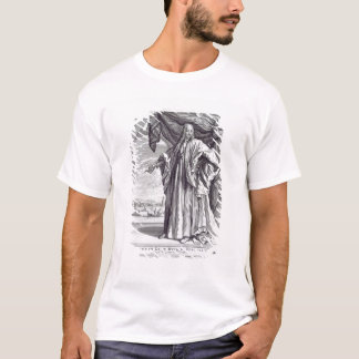 Cosimo III de Medici (1642-1723年)のポートレート、fron Tシャツ