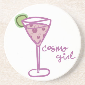 Cosmoの女の子のコースターのパステル コースター