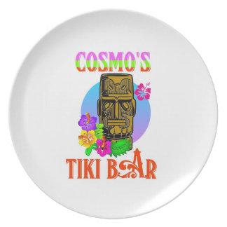 CosmoのTikiのバー プレート