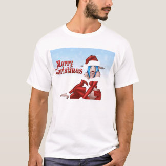 cosplayメリークリスマスの漫画 tシャツ