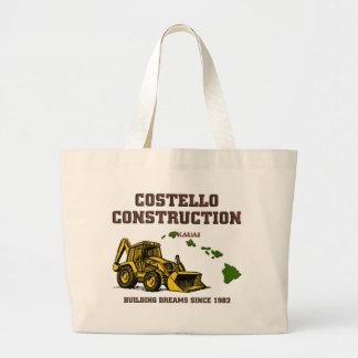 Costelloの建築カウアイ島 ラージトートバッグ
