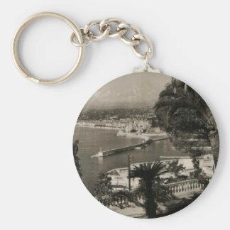 COTE D'AZUR -ニースの「遊歩道des Anglais」1950年 キーホルダー