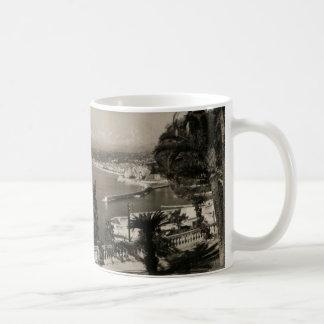 COTE D'AZUR -ニースの「遊歩道des Anglais」1950年 コーヒーマグカップ