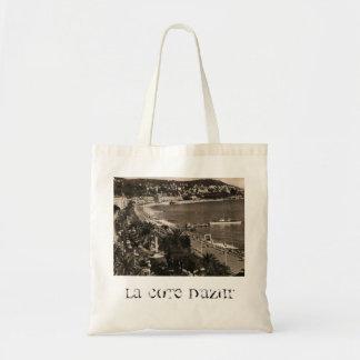COTE D'AZUR -ニースの「遊歩道des Anglais」1950年 トートバッグ