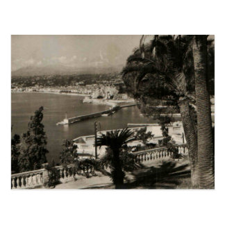 COTE D'AZUR -ニースの「遊歩道des Anglais」1950年 ポストカード