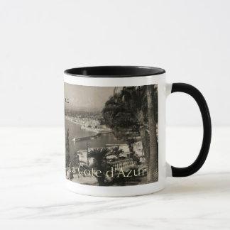 COTE D'AZUR -ニースの「遊歩道des Anglais」1950年 マグカップ