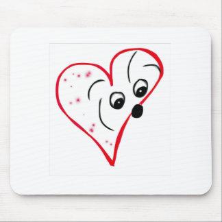 Coton de Tulear Loveのマウスパッド マウスパッド