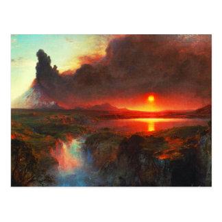 Cotopaxiの火山郵便はがき ポストカード