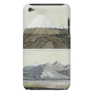 Cotopaxi (上)の頂上、およびCotoの噴火 Case-Mate iPod Touch ケース