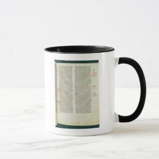 Cott Nero D II f.114エイドリアンIV マグカップ