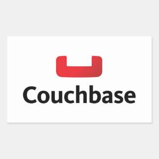 Couchbaseのラップトップのステッカー 長方形シール