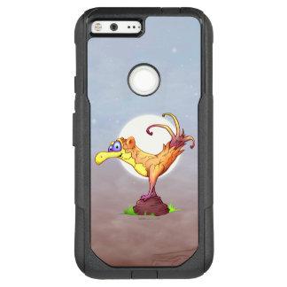 COUCOUの鳥の外国のGoogleピクセルXL   CS オッターボックスコミューターGoogle Pixel XL ケース