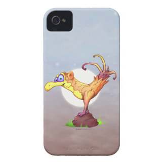 COUCOUの鳥の漫画の   iPhone 4 BT Case-Mate iPhone 4 ケース