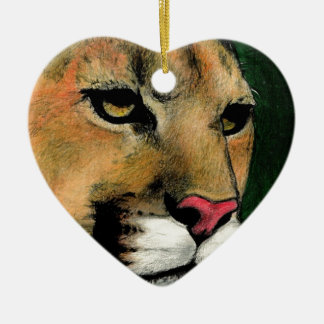 Cougar.jpg 陶器製ハート型オーナメント