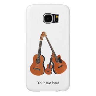 Counrtyのフォーク・ミュージックの音響の楽器 Samsung Galaxy S6 ケース