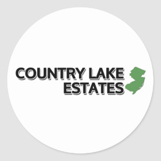 country湖の財産、ニュージャージー ラウンドシール