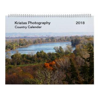 Country Calendar 2018 カレンダー