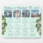 Couple Names and Photos | 2018 Photo Calendar マウスパッド