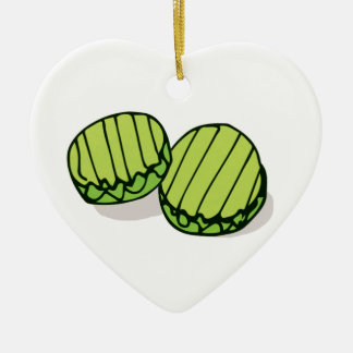 Couples' In a Pickle Together Personalized セラミックオーナメント