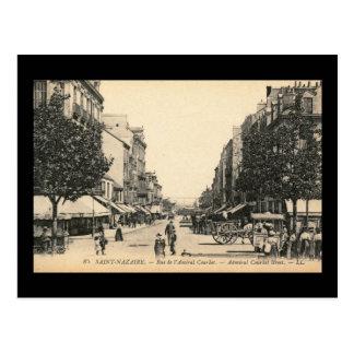 Courbetの聖者Nazaire、フランス通りde l'海軍大将 葉書き