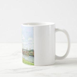 Coursのla RieneのNotre Dameのカテドラル コーヒーマグカップ