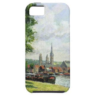 Coursのla RieneのNotre Dameのカテドラル iPhone SE/5/5s ケース