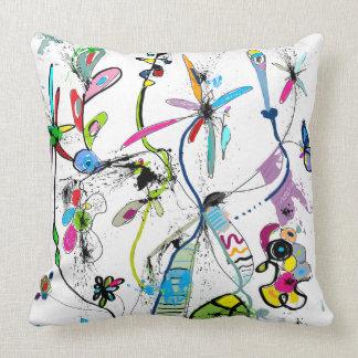 Coussin décoratif moderne, Alice's Garden クッション
