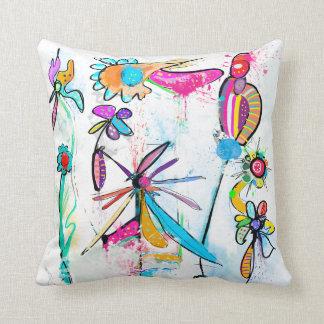 Coussin décoratif moderne, Alice's Garden II クッション