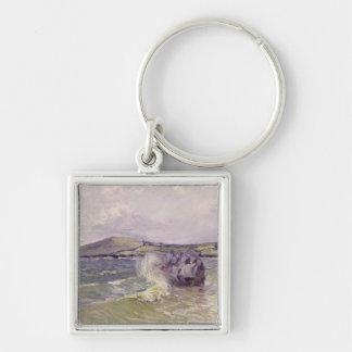 CoveのLangland湾、Le Matiアルフレッド・シスレー|の女性の キーホルダー