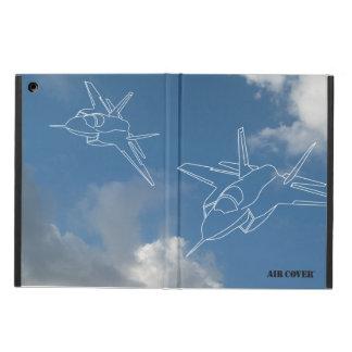 COVER™ (雲の背景)を乾燥して下さい iPad AIRケース