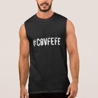 #COVFEFEのスタイル| Covfefeの切札の政治引用文のおもしろい 袖なしシャツ