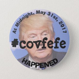 #covfefeのドナルド・トランプのさえずりボタン 7.6cm 丸型バッジ