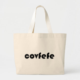 covfefe ラージトートバッグ