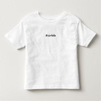 #covfefe -幼児のcovfefeのTシャツ トドラーTシャツ