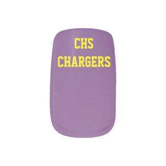 Covingtonの高等学校の充電器のネイルアート ネイルアート