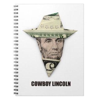 COWBOY LINCOLN スパイラルノート