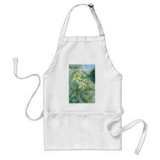 Cowslipsのサクラソウ属のverisの花柄のエプロン スタンダードエプロン