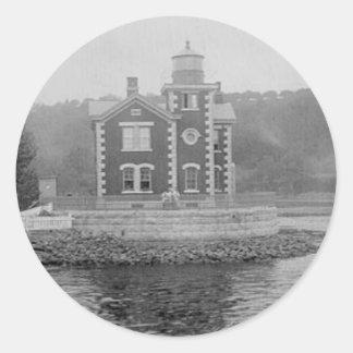 Coxsackieの灯台 ラウンドシール