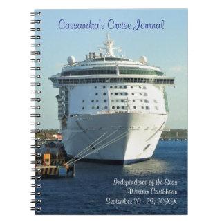 Cozumelのカスタムな巡航ジャーナルの独立 ノートブック