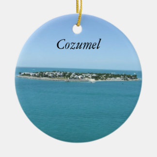 Cozumelの青海原熱帯Ornamement セラミックオーナメント