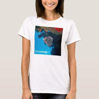 CozumelのAngelfish Tシャツ