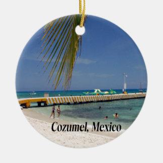 Cozumelメキシコ セラミックオーナメント