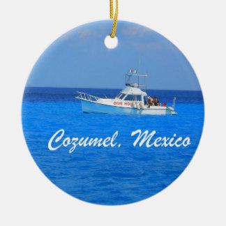Cozumel、メキシコ セラミックオーナメント