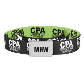 CPAのカスタムなモノグラム及び色ベルト ベルト