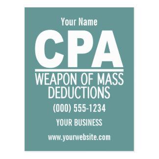 CPAのカスタムの郵便はがき ポストカード