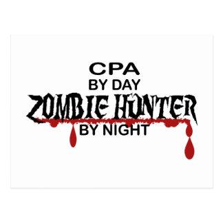 CPAのゾンビのハンター ポストカード
